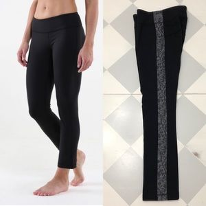 Lululemon Compass Pant Black Cropped Ankle Pant